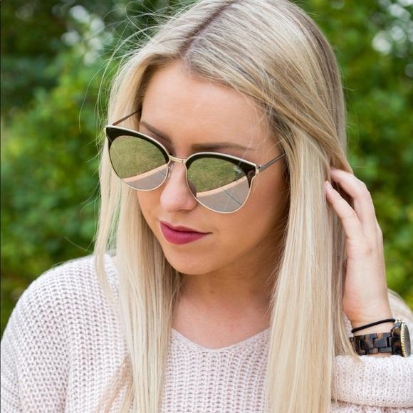 2032eda21d9d2 Quay Australia Mirrored Round Sunglasses